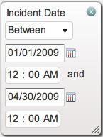 Date between